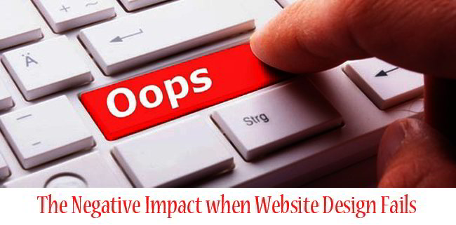 Website Design Fails