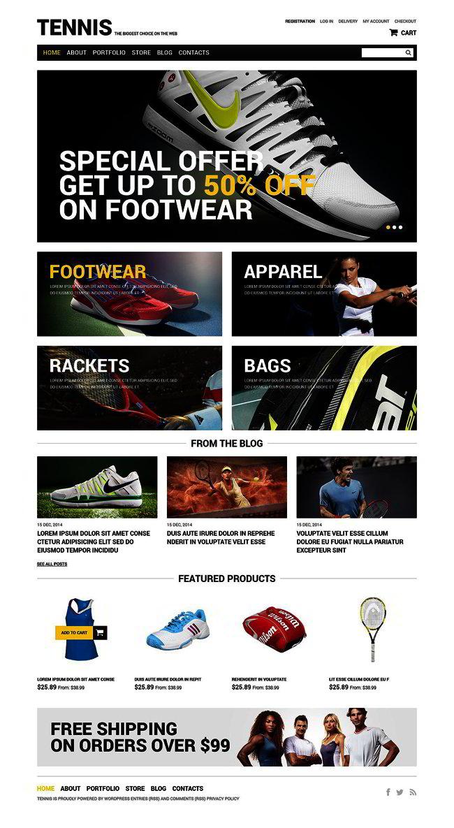 Sportswear WooCommerce Theme