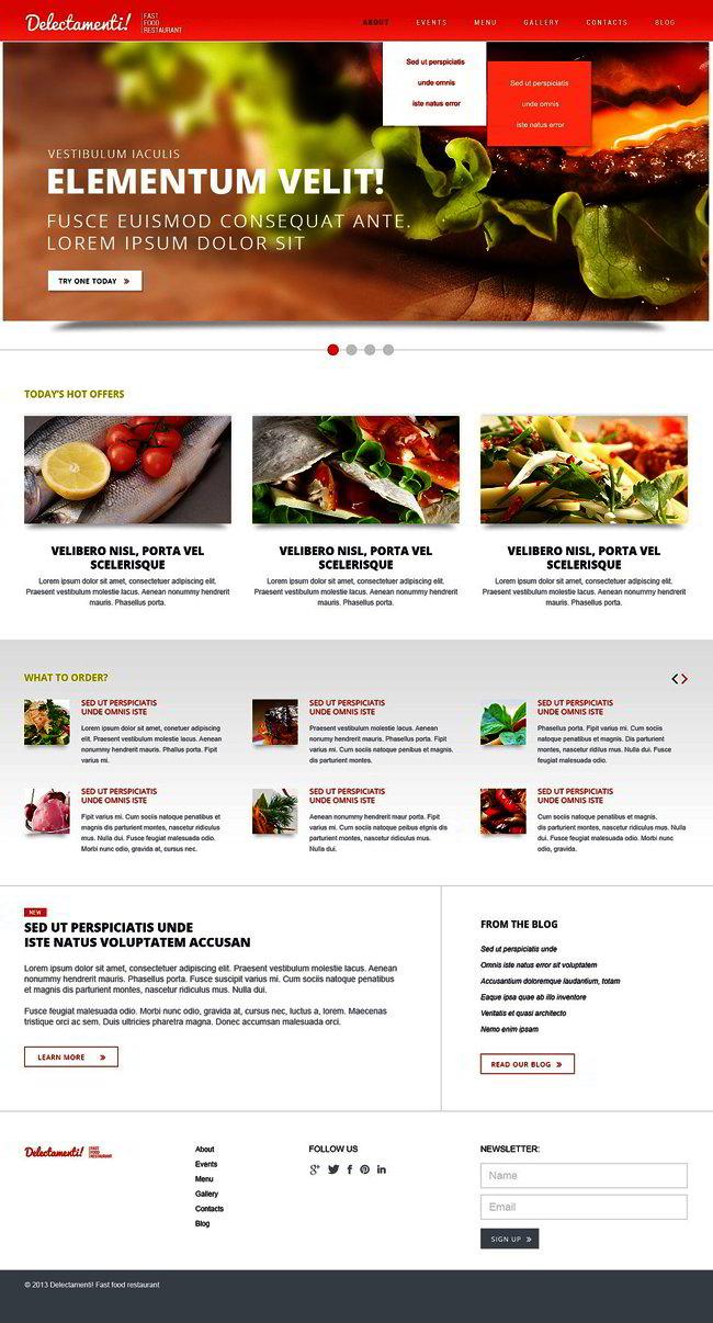 Bootstrap Responsive Joomla Template
