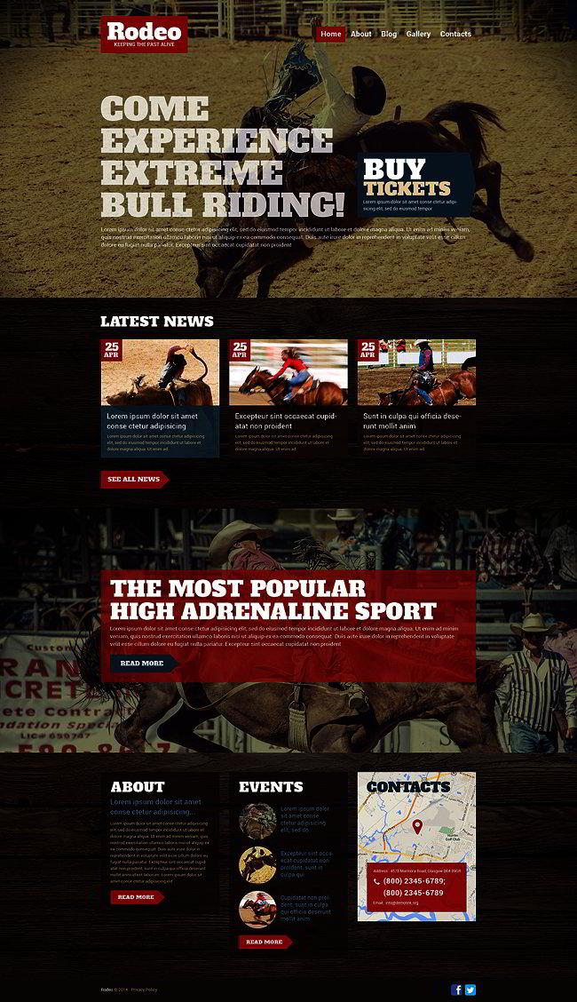 Rodeo WordPress Theme
